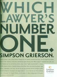 Simpson Grierson advertisement